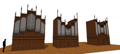 Orgue St-Laurent - 3 modes