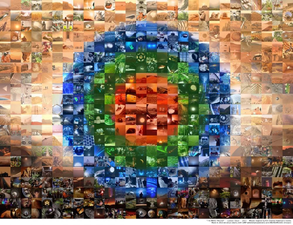 Mars Tilogy Mosaic