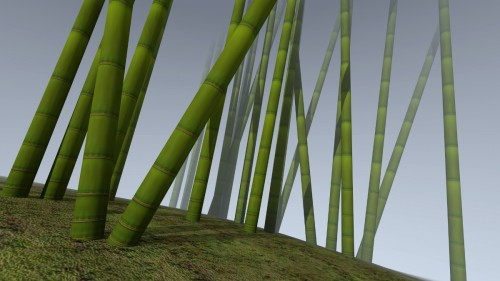 3D-Bamboo-forest