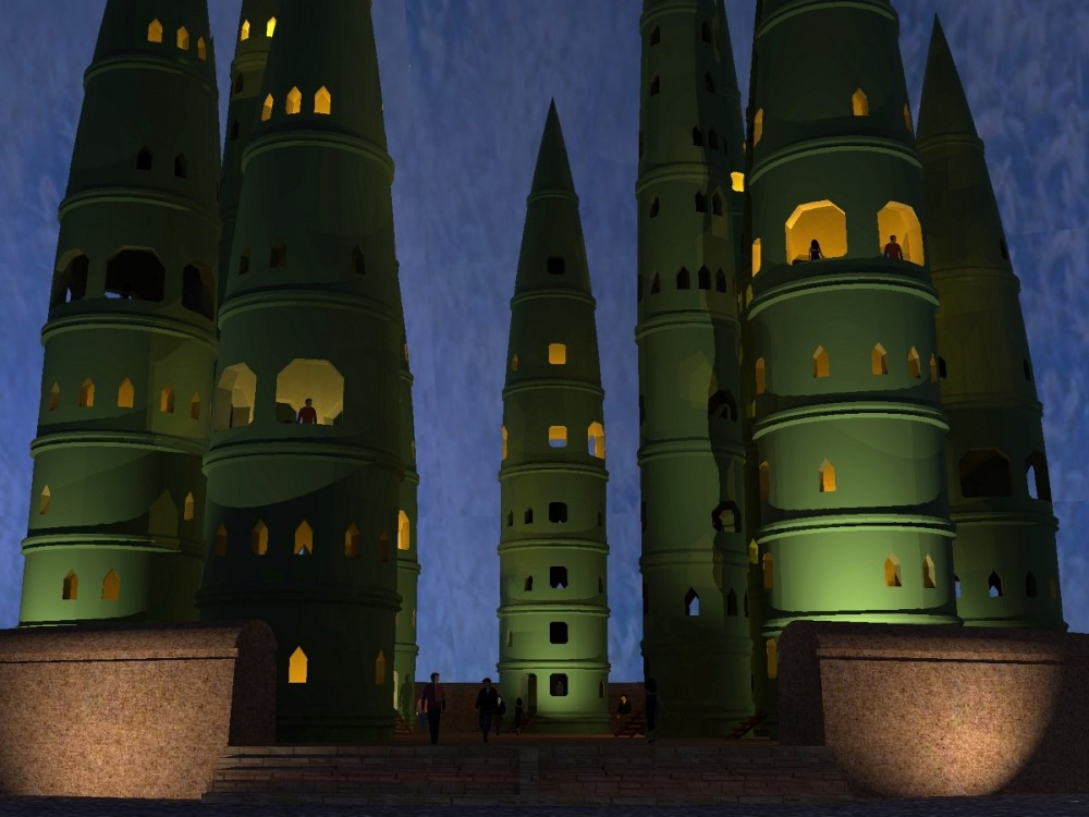 3D-VillageBambous