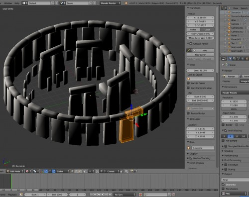 Stonehenge-making