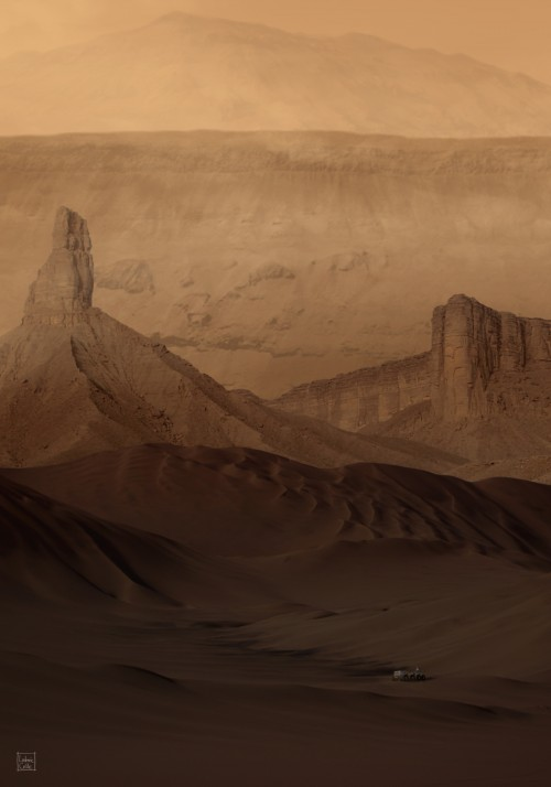 Mars-DownInNoctisLabyrinthus