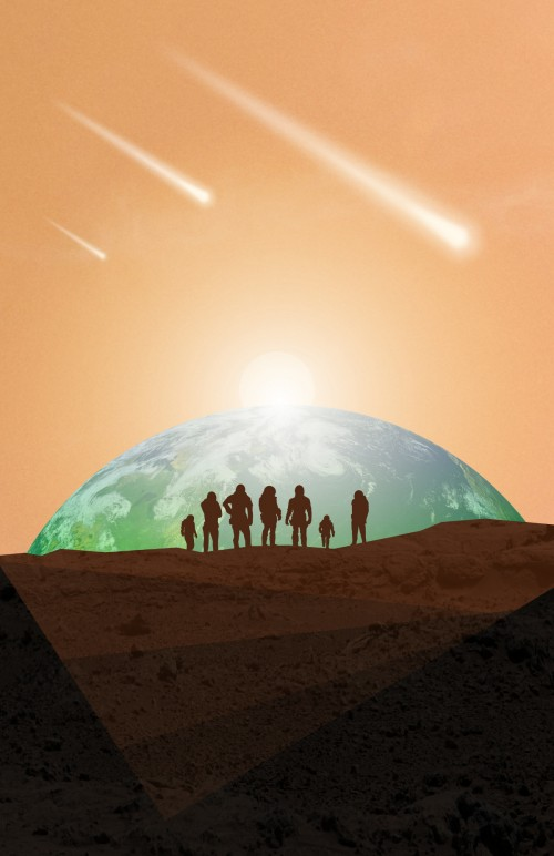 Mars Society Convention 2013 contest poster