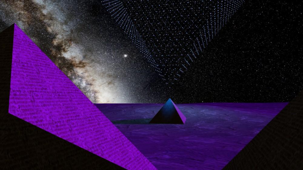 Pyramides spatiales